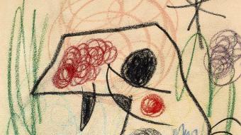 'La Carraca' (1968), una de les obres que Miró va dedicar a Perucho