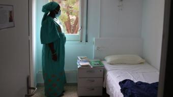Sina Ndiaye, usuària del Centre Residencial d'Inclusió La Llavor per a dones sense llar