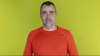 David Sandoval, després de ser escollit novament president de Greenpeace a l'Estat espanyol