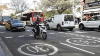 A Barcelona fa un any van ampliar la rebaixa de la velocitat a diferents carrers