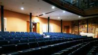 La platea de la sala de l'antic Teatre El Foment, tal com es veu a Change. org