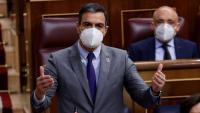 Pedro Sánchez, president del govern espanyol, en la sessió de control al Congrés