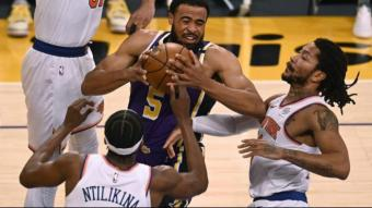 Talen Horton-Tucker decisiu pels Lakers