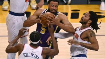 Talen Horton-Tucker decisiu pels Lakers