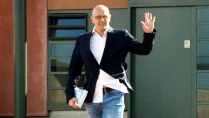 L'exconseller d'Exteriors Raül Romeva és un dels acusats pel Tribunal de Comptes en relació a l'acció exterior exercida per la Generalitat de Catalunya
