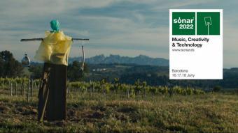 La imatge del Sónar 2022, entre vinyes i espantaocells