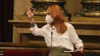 La líder d'En Comú Podem al Parlament, Jéssica Albiach