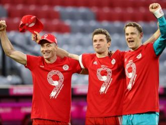 Lewandowski, Müller i Neuer, veterans molt vigents per al Bayern