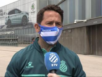 Raúl Tamudo, l'ex davanter, ha estat un dels membres de l'Espanyol que més es va emocionar.