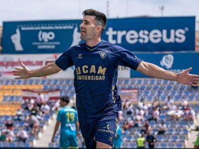 Xemi, exjugador del Barça, ara a les files de l'UCAM Múrcia