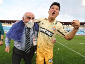 Wu Lei té un futur incert a l'Espanyol tot i tenir contracte fins al 2024.
