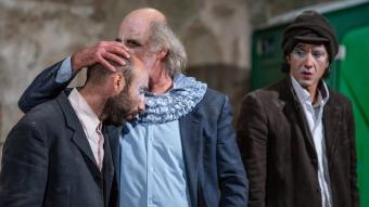 Un detall del nou espectacle de Los Galindos , 'MDR, Mort de Riure', que s'estrena al Trapezi dissabte vinent