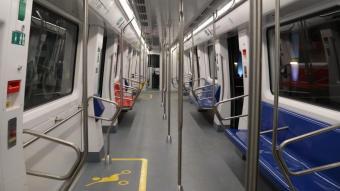 La nova maqueta de tren del metro de Barcelona