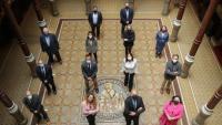Foto dels candidats a les eleccions a la junta de l'ICAB