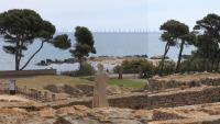 La reproducció feta per la plataforma des de les ruïnes d'Empúries