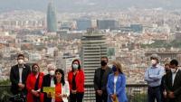 Vilalta, en l'acte del municipalisme republicà amb alcaldes i regidors ahir a Montjuïc