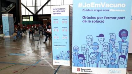 Espai de vacunació de l'espai firal de Tortosa