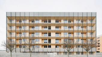 'Bloc 6x6', dels gironins Ramon Bosch i Bet Capdeferro, un dels nou projectes finalistes d'arquitectura