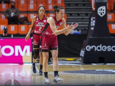 Laia Palau , la capitana de l'equip un altre curs