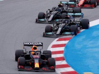 Una imatge del GP d'Espanya del circuit Barcelona-Catalunya