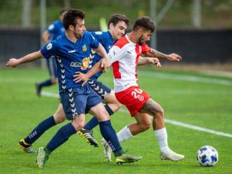 Una acció del Girona B-Vilafranca del curs passat que es reeditarà en aquesta temporada 2021/22