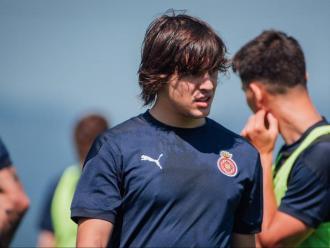 Pablo Moreno, en un entrenament