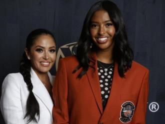 Vanessa i Natalia (filla de Kobe) Bryant