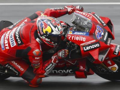Jack Miller al capdavant de MotoGP en el GP de França