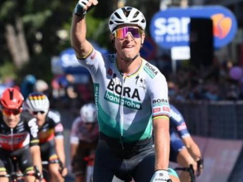 Segon triomf de Sagan al Giro, el primer aquest any