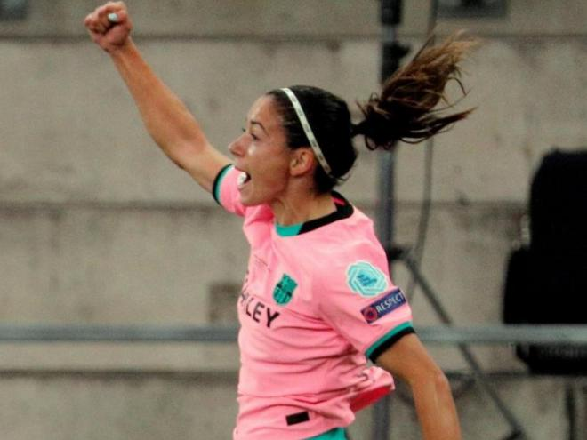 Aitana crida el seu gol en la final de la Champions, a Göteborg