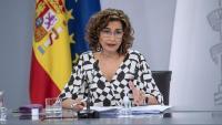 La portaveu del govern espanyol, María Jesús Montero
