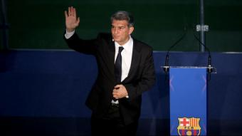 Joan Laporta, president del FC Barcelona