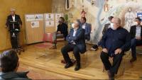 Els presidents dels consells comarcals s'escolten Magí Trullols, de la Conca de Barberà