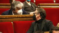 Josep Maria Jové i Albert Batet, presidents dels grups parlamentaris d'ERC i JxCat, seran, en principi, dos dels representants de l'equip de coordinació de la cambra