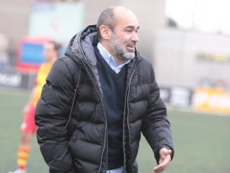 Ivan Moreno ha viscut la transformació del Vilafranca al capdavant de l'equip des de la banqueta