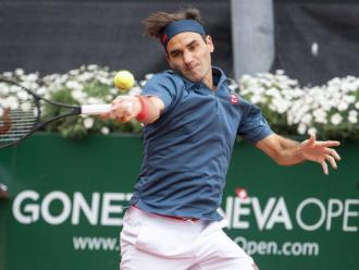 Roger Federer en l'Obert de Ginebra