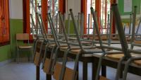 Una aula d'educació infantil de l'Escola Heura