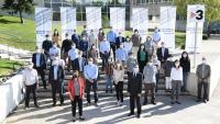 Els investigadors premiats en la Marató
