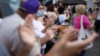 Un miler de persones es van concentrar a Santa Cruz de Tenerife en rebuig al crim masclista