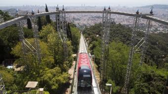 El nou funicular del Tibidabo