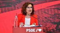 La portaveu del govern espanyol i ministra d'Hisenda, María Jesús Montero