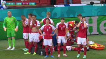 Els jugadors de Dinamarca.