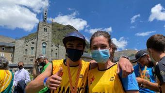 Jan Margarit i Núria Gil , els nous campions catalans de curses de muntanya