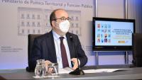 El ministre de Política Territorial i Funció Púbilca, Miquel Iceta