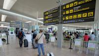 Arribada de turistes al Prat la setmana passada arran de l'aixecament de restriccions