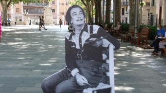Una de les figures de Dalí