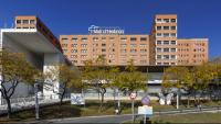 Vista general de l'Hospital Vall d'Hebron