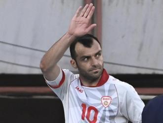 Goran Pandev, la referència de Macedònia