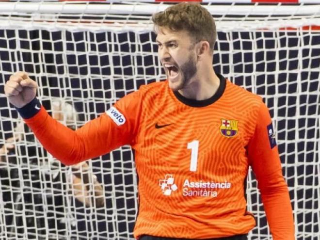 Gonzalo Pérez de Vargas , decisiu per superar els moments més complicats del partit