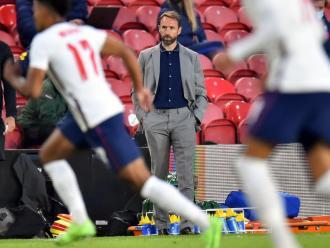 Southgate, tècnic de la selecció anglesa